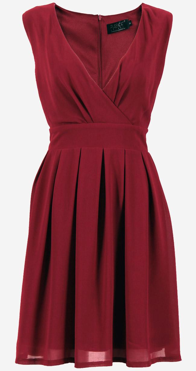 1919e4bb329 ... 1455642611 burgundy-chiffon-dress.jpg. ‹ ›